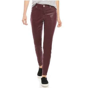 Mulberry Skinny Coated Jeans